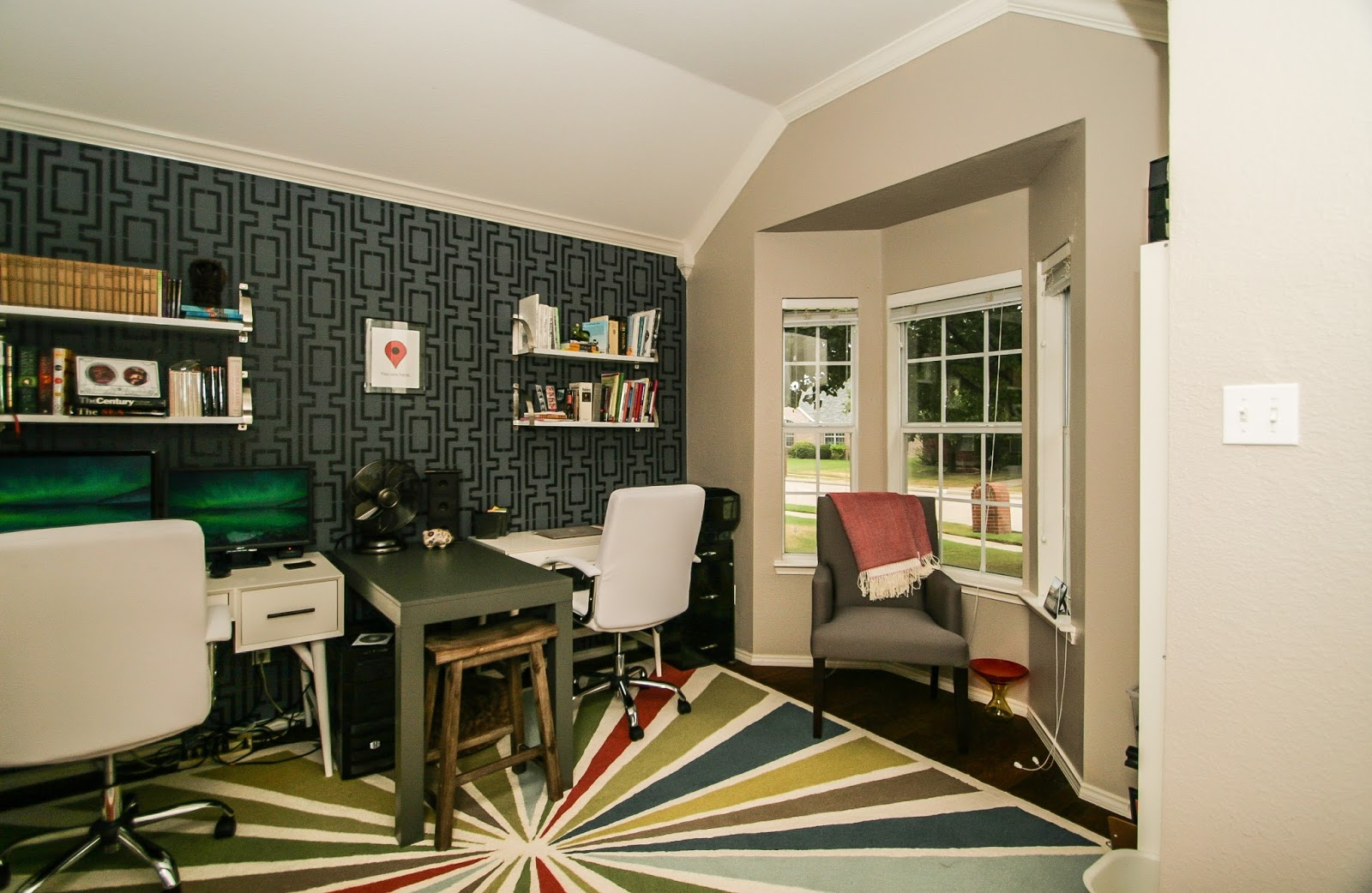 Home Office Accent Wall 7
