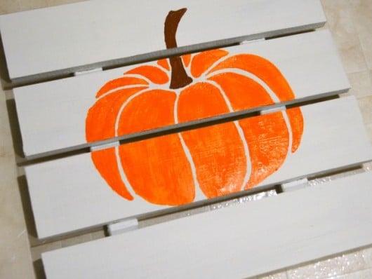 pumpkin-craft-stencil-diy-stenciling-fall-sign-tutorial