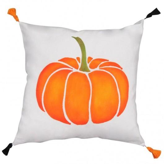 A DIY Halloween accent pillow using the Pumpkin Paint-A-Pillow kit.  http://www.cuttingedgestencils.com/pumpkin-stencils-halloween-throw-pillows-diy-home-decor.html