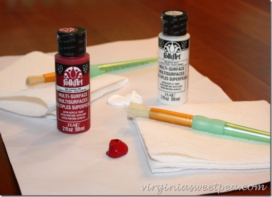 Supplies needed to stencil a DIY sign using the Home Is Where The Heart Is Wall Stencil. http://www.cuttingedgestencils.com/home-is-wall-quote-stencil.html