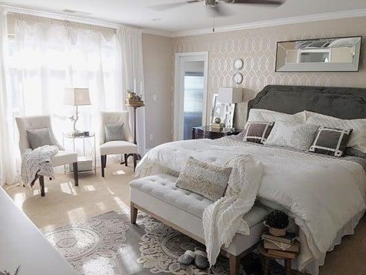 entwined-allover-stencil-diy-stenciled-bedroom