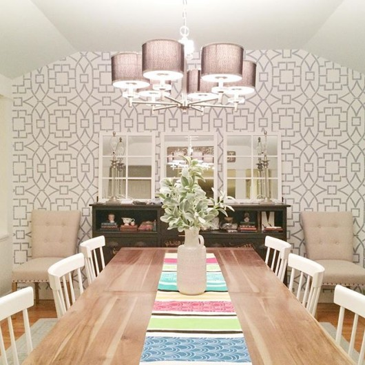 Stencils Add Personality And Charm To A Home Stencil Stories