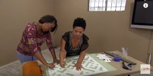 A DIY stencil tutorial with Kim Myles for stenciled paper wall art using the African Kuba Craft Stencil from Cutting Edge Stencils. http://www.cuttingedgestencils.com/kuba-stencil-pattern-stencils.html