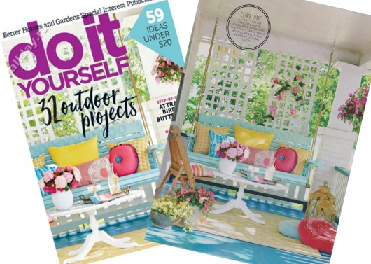 Do It Yourself Magazine features the Acacia Paint-A-Pillow kit from Cutting Edge Stencils in its special porch makeover issue. http://www.cuttingedgestencils.com/acacia-stencil-paint-a-pillow-kit.html