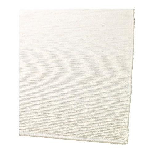 An Ikea plain white run before its stenciled makeover. http://www.cuttingedgestencils.com/moroccan-stencil-pattern-3.html