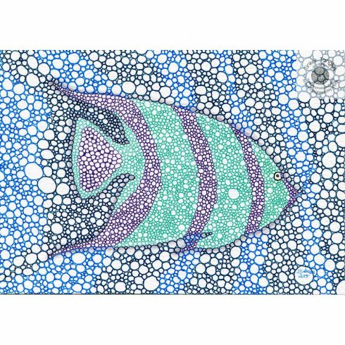 The Fish Doodle Stencl Kit from Cutting Edge Stencils is perfect for doodling and creative projects. http://www.cuttingedgestencils.com/fish-stencil-doodle-stencils-doodling-coloring-tangling.html