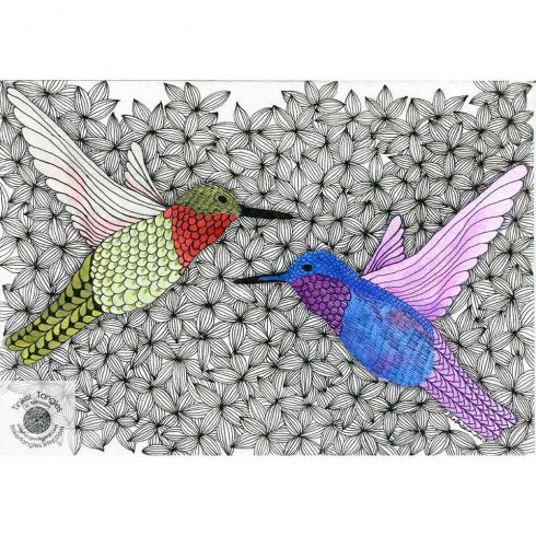 The Birds Doodle Stencil Kit from Cutting Edge Stencils includes four stencil shapes for doodling. http://www.cuttingedgestencils.com/bird-doodle-stencils-doodling-coloring-pages.html