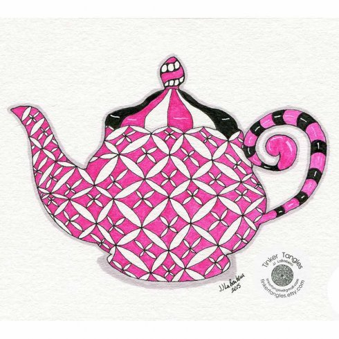 The Tea Time Doodle Stencil Kit from Cutting Edge Stencils includes five stencil shapes for doodling. http://www.cuttingedgestencils.com/tea-cup-stencil-doodling-coloring-doodle-stencils.html