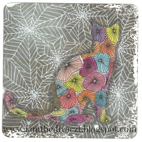 The Cat Doodle Stencil Kit from Cutting Edge Stencils includes two stencil shapes for doodling and adult coloring. http://www.cuttingedgestencils.com/cat-stencil-doodle-stencil-doodling-coloring.html